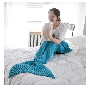 Other - Mermaid tail blanket. Turquoise.